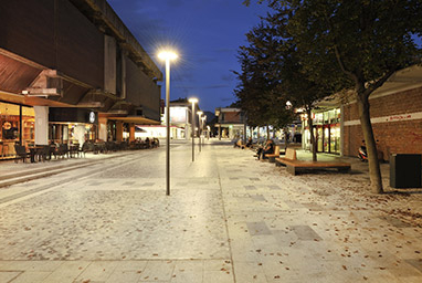 RENOVATION OF PUBLIC AREA IN THE CITY CENTRE OF NOVA GORICA, NOVA GORICA